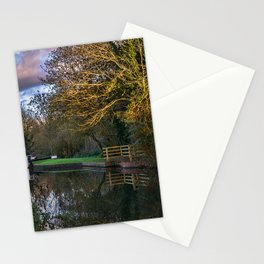 Autumn Reflections On The Kennet Stationery Cards