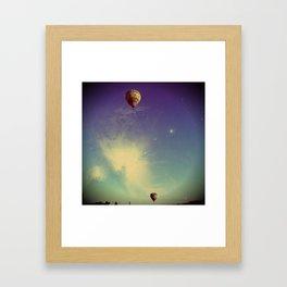 Magical Sky Framed Art Print