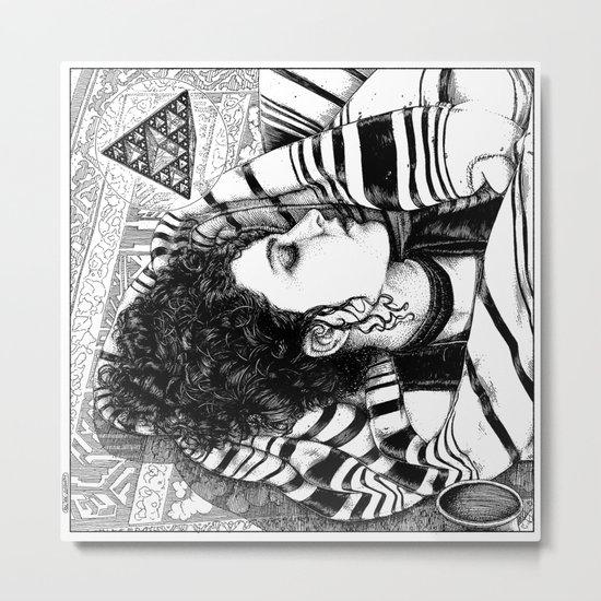 asc 726 - Le rêve berbère (Desert fever) Metal Print