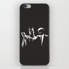 Does he look like a Bat? iPhone & iPod Skin