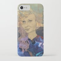 tina crespo iPhone & iPod Cases featuring Tina by Nina Schulze Illustration