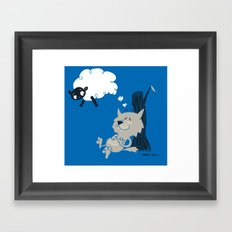 Shleep Framed Art Print