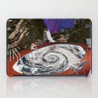 bath iPad Cases featuring Hurricane bath by Blaz Rojs