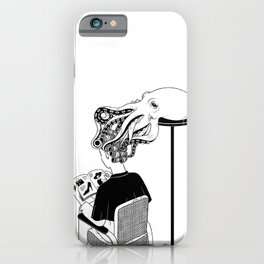 Octopus Salon iPhone Case