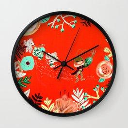 Caminito de la Escuela Wall Clock
