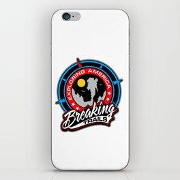 BT EXPLORING AMERICA iPhone Skin