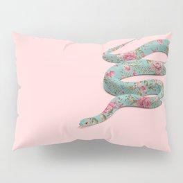 FLORAL SNAKE Pillow Sham