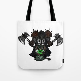 Defend Your Healers (Wordless) Tote Bag