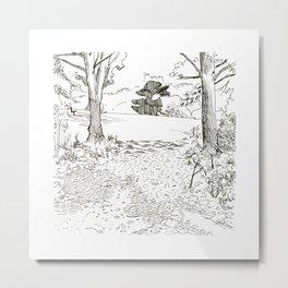 Balmore Park Landscapes - day 26 Metal Print