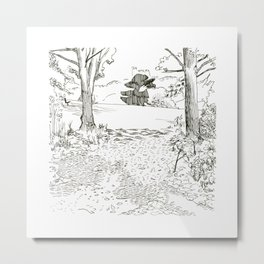 Balmore Park Landscapes - day 26 Metal Print