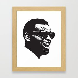 Brother Ray Framed Art Print