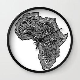 ROOTED (NIGERIA) Wall Clock