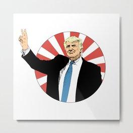 Donald Trump Metal Print