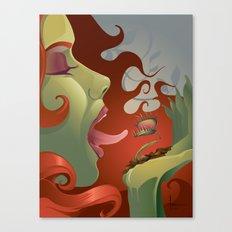IVY's KISS Canvas Print