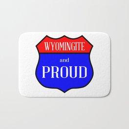 Wyomingite And Proud Bath Mat