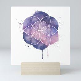 Seed of Life Mini Art Print