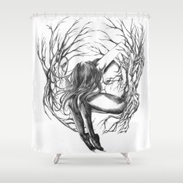 Caged Shower Curtain