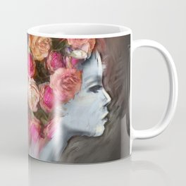 Flower Bloom Girl Coffee Mug