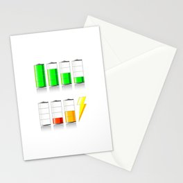 Battery Charging Stationery Cards
