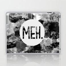 Meh. (B&W) Laptop & iPad Skin
