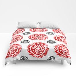 Sun mandala pattern Comforters