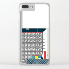 Complejo Parque Central -Detail- Clear iPhone Case