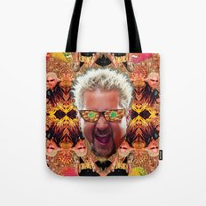 God Guy Fieri's Hot Dog Diggityverse Tote Bag