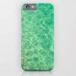 Ocean crystal clear water iPhone Case