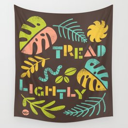 Tread Lightly Wall Tapestry