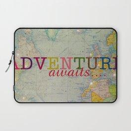 Adventure Awaits Laptop Sleeve