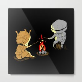 Bonfire Buddies Metal Print