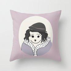 Piaf - La vie en Rose Throw Pillow