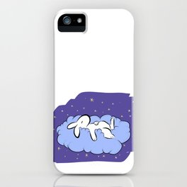 Sleeping Bunny iPhone Case
