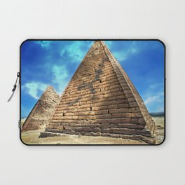 Kush Empire pyramids - Jebel Barkal - Sudan Laptop Sleeve