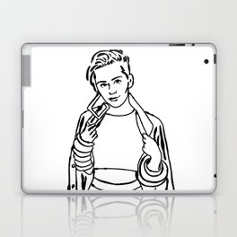 Paint Ur Own Miley Laptop & iPad Skin