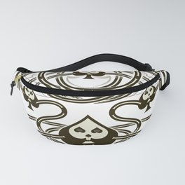 Playing Cards - Spade Fanny Pack
