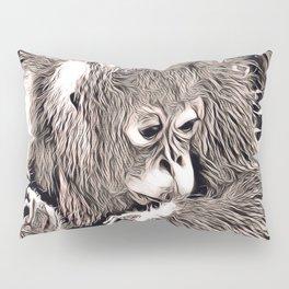 Rustic Style - Orang Baby Pillow Sham