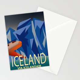 Iceland Air Stationery Cards