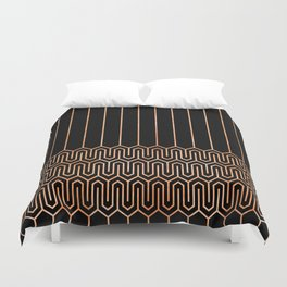 Art Deco No. 1 Quinn Duvet Cover