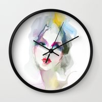 decorative Wall Clocks featuring 	decorative by tatiana-teni