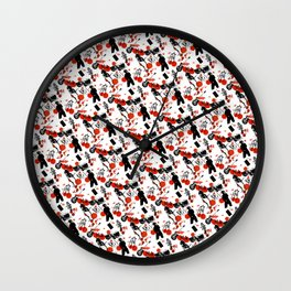 """Boy's"" Tile 1 Wall Clock"