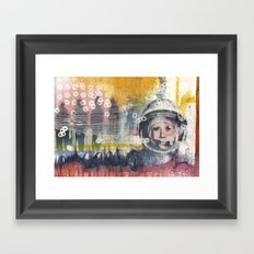 Business as Usual Framed Art Print