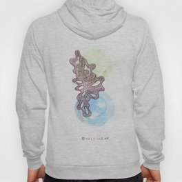 21 // Abstract 9 March 2017 | Abstract Shapes Art Colour Hoody
