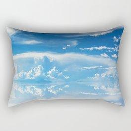 Salt Flats of Salar de Uyuni, Bolivia #3 Rectangular Pillow