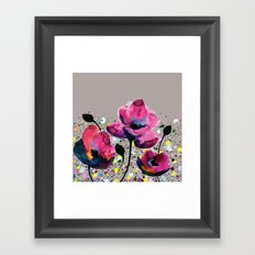 Poppies Framed Art Print