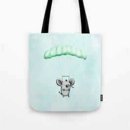 Cutie Parachuting Elephant Tote Bag