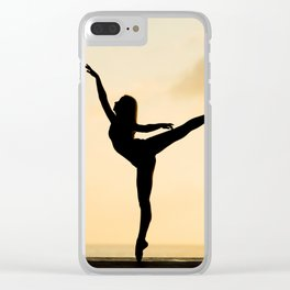 Fine Art Photograph - Yoga Clear iPhone Case