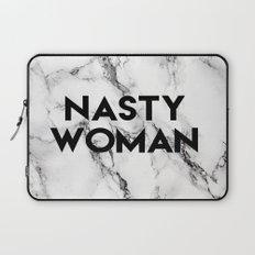 Nasty Woman (marble) Laptop Sleeve