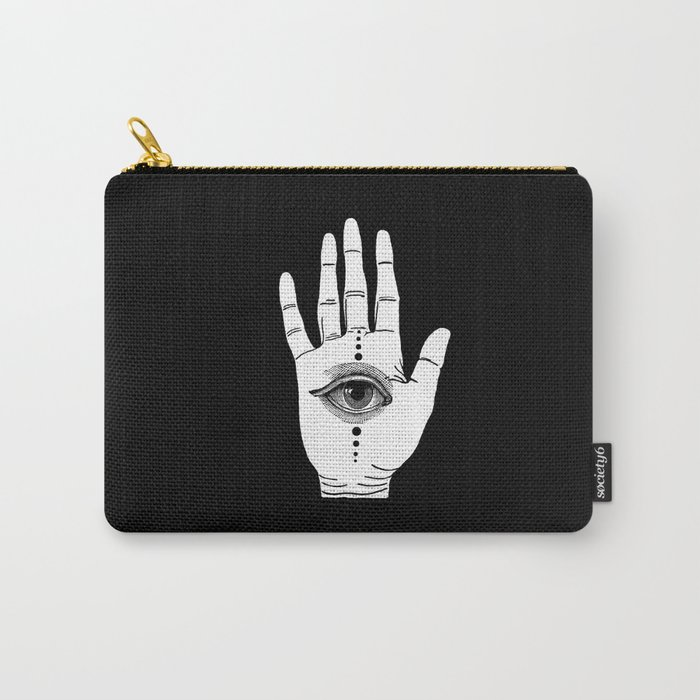 Hamsa Horus Carry-All Pouch