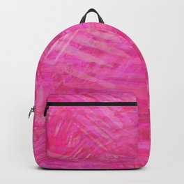 Abstract pink lines look Backpack